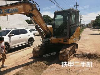 河南-济源市二手徐工XE60CA挖掘机实拍照片