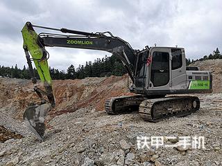 中聯重科ZE135E-10挖掘機實拍圖片