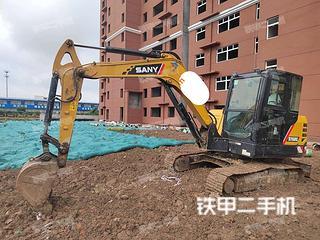 河南-漯河市二手三一重工SY60C挖掘机实拍照片