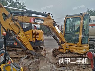 河南-周口市二手徐工XE35U挖掘机实拍照片