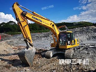 湖南-郴州市二手小松PC200-7挖掘机实拍照片