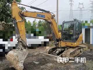 河南-郑州市二手徐工XE60D挖掘机实拍照片
