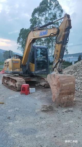 肇慶徐工XE80D挖掘機實拍圖片