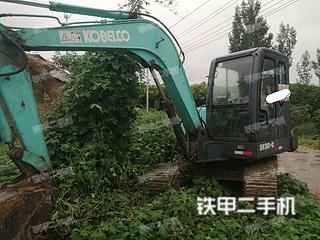 河南-济源市二手山河智能SWE60E挖掘机实拍照片