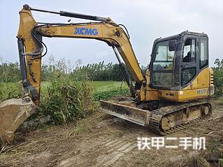 安徽-滁州市二手徐工XE60D挖掘机实拍照片