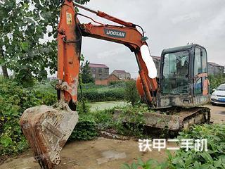 江苏-宿迁市二手斗山DH60-7挖掘机实拍照片