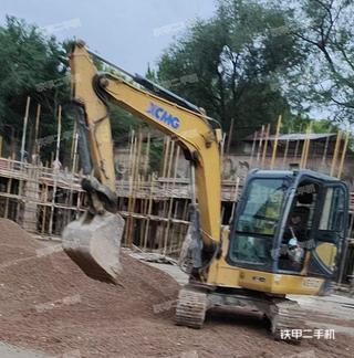 陕西-渭南市二手徐工XE60D挖掘机实拍照片