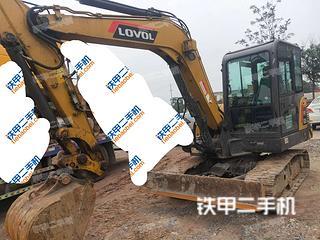 河北-邯郸市二手雷沃重工FR60E-H挖掘机实拍照片