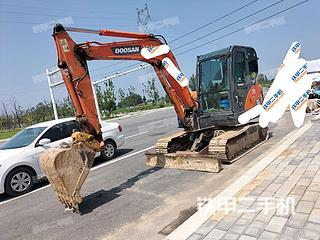 河南-郑州市二手斗山DX60挖掘机实拍照片