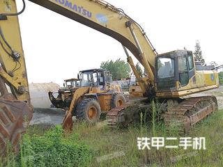 湖南-岳阳市二手小松PC450-8挖掘机实拍照片