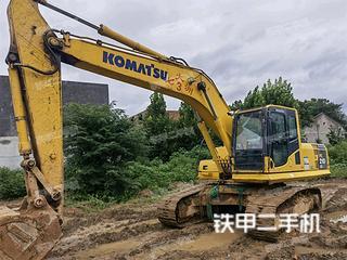 鄭州小松PC210LC-8M0挖掘機實拍圖片