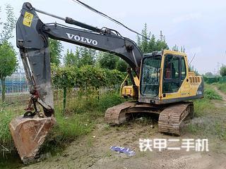 濱州沃爾沃EC140BLC挖掘機實拍圖片