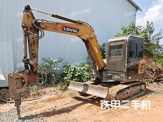 江西-萍乡市二手雷沃重工FR65E挖掘机实拍照片