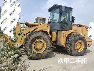 天津柳工CLG855裝載機實拍圖片