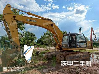 加藤HD1430R挖掘機實拍圖片