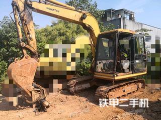 湖南-株洲市二手小松PC60-7挖掘机实拍照片