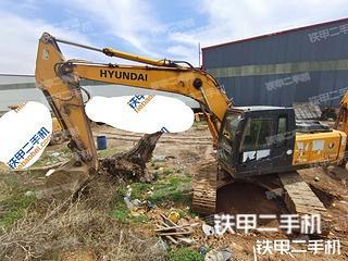 邯鄲現代R225LC-7挖掘機實拍圖片