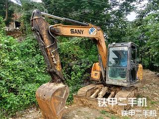 湖南-张家界市二手三一重工SY65C挖掘机实拍照片