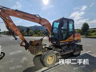 贵州-黔南布依族苗族自治州二手新源XYB75W-9挖掘机实拍照片
