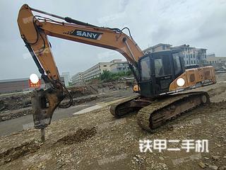 湖南-邵阳市二手三一重工SY225C挖掘机实拍照片