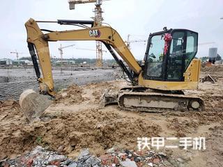 江苏-淮安市二手卡特彼勒306小型液压挖掘机实拍照片