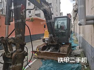 山东-泰安市二手沃尔沃EC55DAG挖掘机实拍照片
