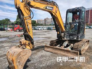 北京三一重工SY55U挖掘機實拍圖片