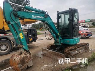 河北-邢台市二手山河智能SWE40UB挖掘机实拍照片