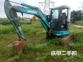 安徽-淮南市二手山河智能SWE40UB挖掘机实拍照片