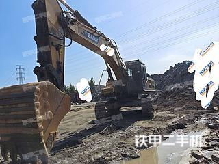 唐山三一重工SY485H挖掘機實拍圖片