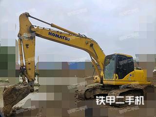 安徽-蚌埠市二手小松PC200-7挖掘机实拍照片