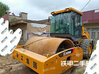 安徽-滁州市二手徐工XS223JE压路机实拍照片