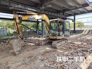 安徽-芜湖市二手小松PC60-7挖掘机实拍照片