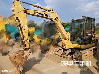 湖南-长沙市二手小松PC56-7挖掘机实拍照片