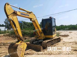 河北-邢台市二手小松PC56-7挖掘机实拍照片