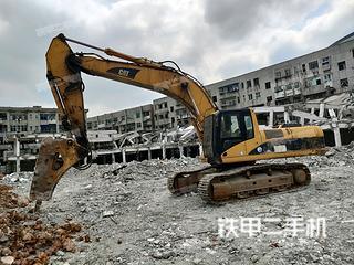永州卡特彼勒330C挖掘机实拍图片