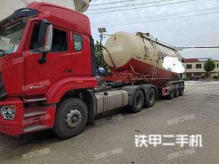 駿強JQ9405GXH01粉粒物料運輸半罐車實拍圖片