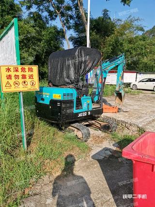 肇慶馭工YG22-9G挖掘機實拍圖片