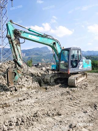泰安神鋼SK140LC-8挖掘機實拍圖片
