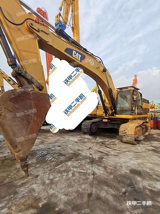 卡特彼勒345D挖掘機實拍圖片