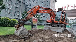 北京斗山DH150W-7挖掘機實拍圖片