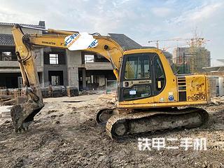 上海小松PC120-6E0挖掘機實拍圖片