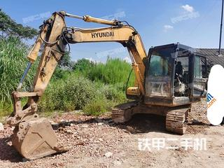 現代R80-7挖掘機實拍圖片