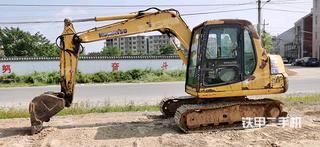 江西-景德镇市二手小松PC60-7挖掘机实拍照片