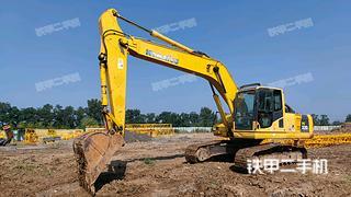 北京小松PC220-8挖掘機實拍圖片