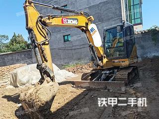河北-石家庄市二手徐工XE55DA挖掘机实拍照片