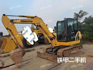 河北-石家庄市二手小松PC56-7挖掘机实拍照片