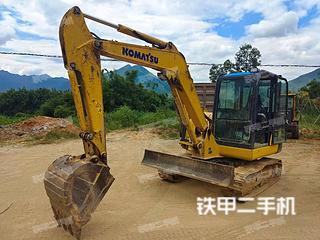 广西-贺州市二手小松PC56-7挖掘机实拍照片