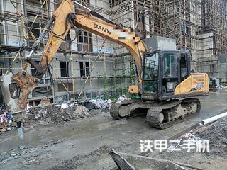 上海三一重工SY115C挖掘機實拍圖片