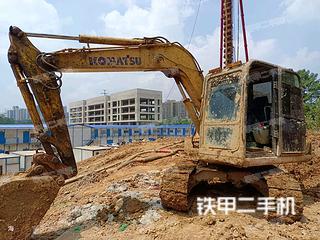 湖南-长沙市二手小松PC60-8挖掘机实拍照片